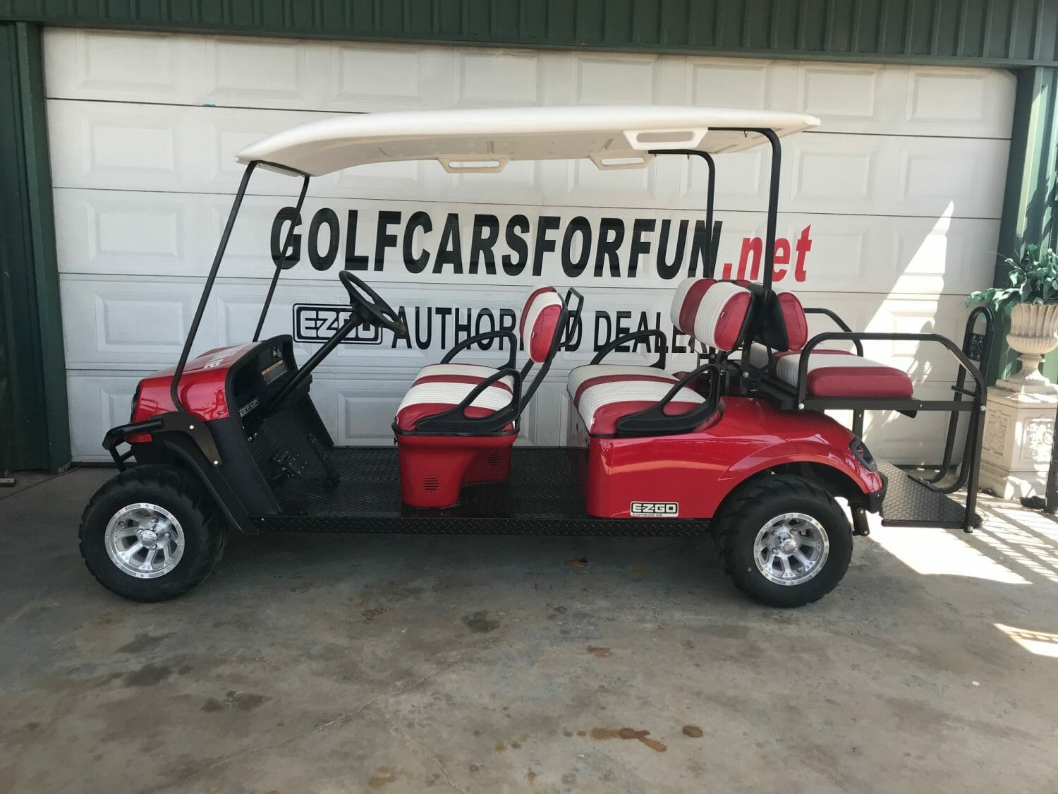 golf car rental 4 passenger